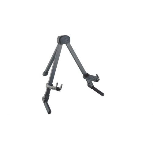 KM 17550-000-35 BLACK ANODIZED GUITAR STAND MEMPHIS TRAVEL