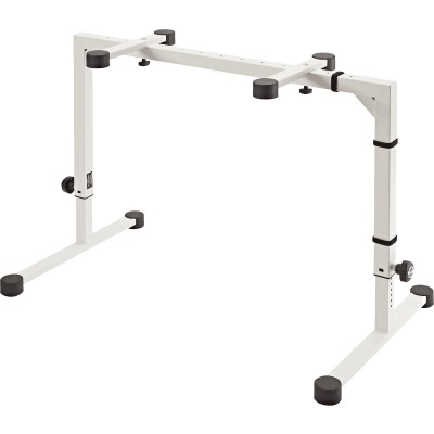 KM 18810-000-55 WHITE TABLE-STYLE KEYBOARD STAND OMEGA