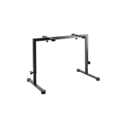 KM 18810-000-55 BLACK TABLE-STYLE KEYBOARD STAND OMEGA