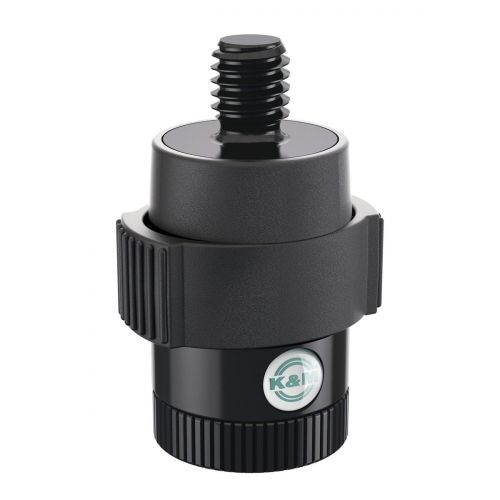 KM QUICK-RELEASE ADAPTER FOR MICROPHONES - BLACK