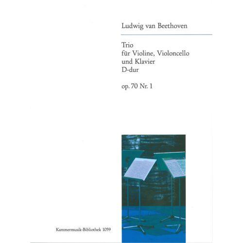 EDITION BREITKOPF BEETHOVEN - PIANO TRIO IN D MAJOR OP. 70/1