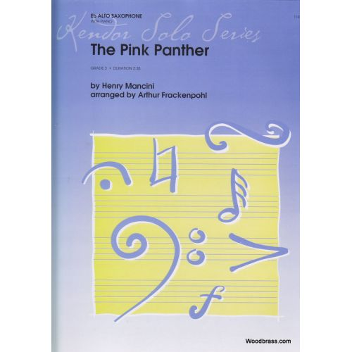 KENDOR MANCINI HENRY - THE PINK PANTHER Eb ALTO SAX