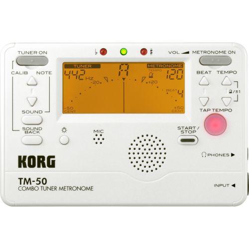 KORG STIMMGERAET METRONOM TM50-PW