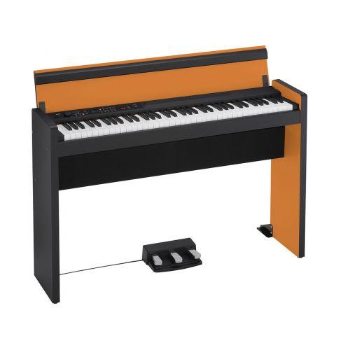 KORG LP-380 73 KEYS ORANGE AND BLACK