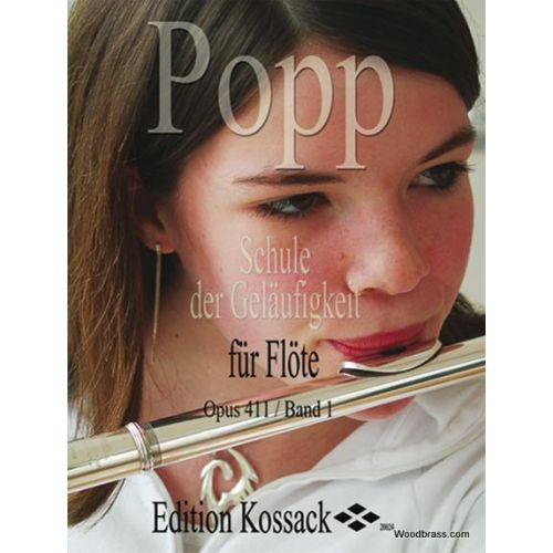 EDITION KOSSACK POPP WILHELM - ECOLE DE VELOCITE OP.411 VOL.1 - FLUTE
