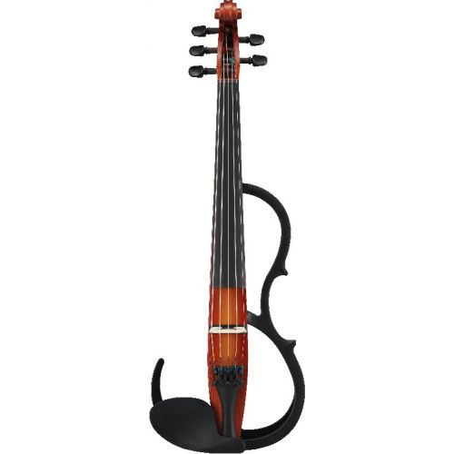 YAMAHA 4/4 5 STRINGS SILENT VIOLIN SV255BR - BROWN