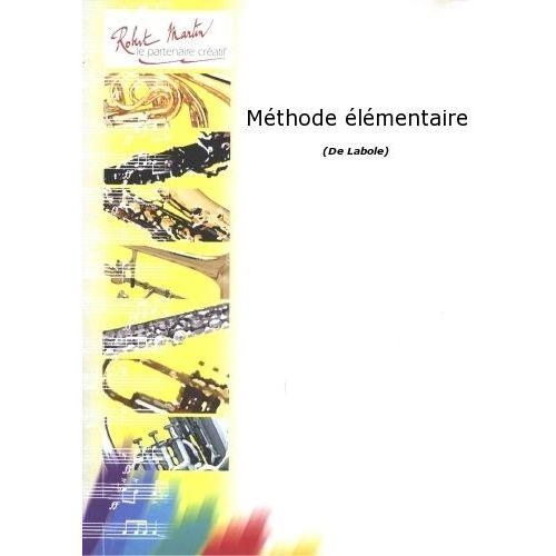 ROBERT MARTIN LABOLE P. - MÉTHODE ÉLÉMENTAIRE