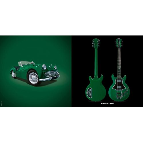 LAG ROXANE RACING BEDARIEUX 2000 BRITISH RACING GREEN BIGSBY
