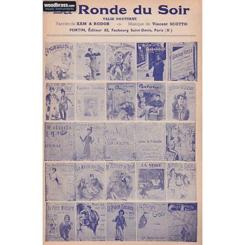 FORTIN SCOTTO V. - LA RONDE DU SOIR - PETIT FORMAT