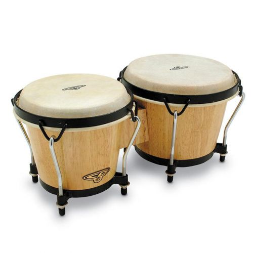 LP LATIN PERCUSSION CP221-DW BONGO CP TRADITIONAL DARK WOOD