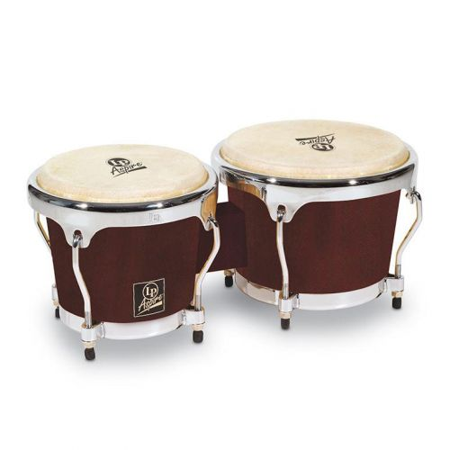LP LATIN PERCUSSION LPA601-DW BONGO ASPIRE DARK WOOD