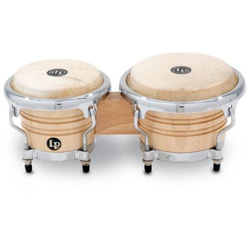 LP LATIN PERCUSSION LPM199-AW BONGOS MINI TUNABLE NATURAL