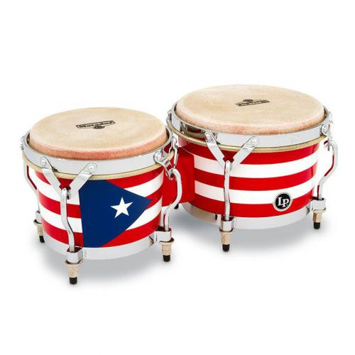 LP LATIN PERCUSSION LPM199-PR BONGOS MINI