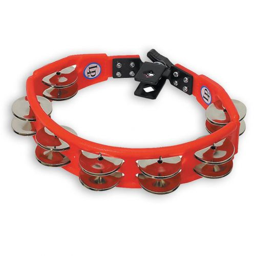 LP LATIN PERCUSSION LP161 TAMBOURINE CYCLOP MIT HALTER ROT