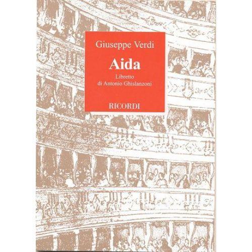 RICORDI VERDI G. - AIDA
