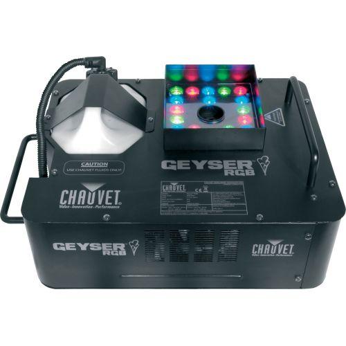 CHAUVET FUMEE ET LED RGB
