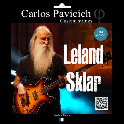 SKULL STRINGS LELAND SKLAR BASS