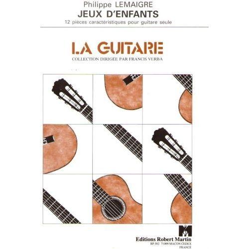 ROBERT MARTIN LEMAIGRE - JEUX D'ENFANTS
