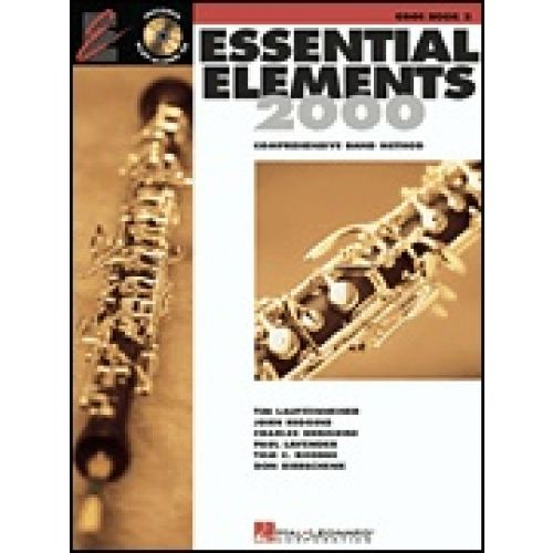 HAL LEONARD ESSENTIAL ELEMENTS 2000 - HAUTBOIS + CD