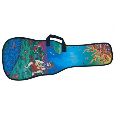 86a85089e14 LEVY'S ELECTRIC GUITAR CASE WITH DESIGN PATTERNS 005 - Woodbrass.com