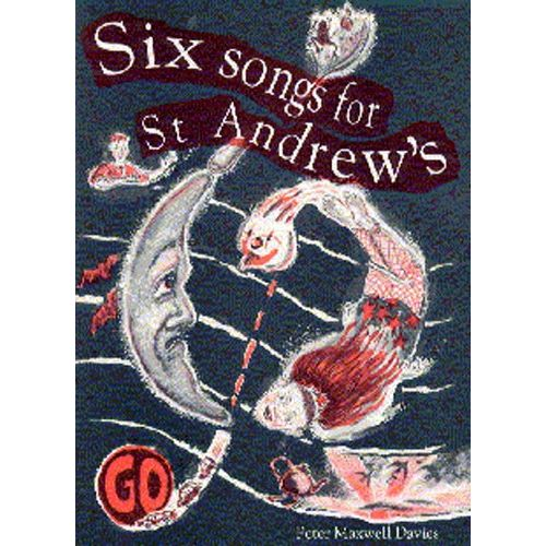 CHESTER MUSIC SIX SONGS FOR ST ANDREW S FULL SCORE AND PARTS - PERCUSSION