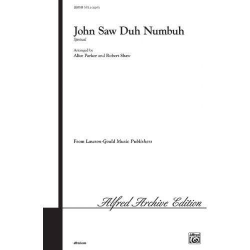 ALFRED PUBLISHING SAW JOHN - DUH NUMBUH - MIXED VOICES