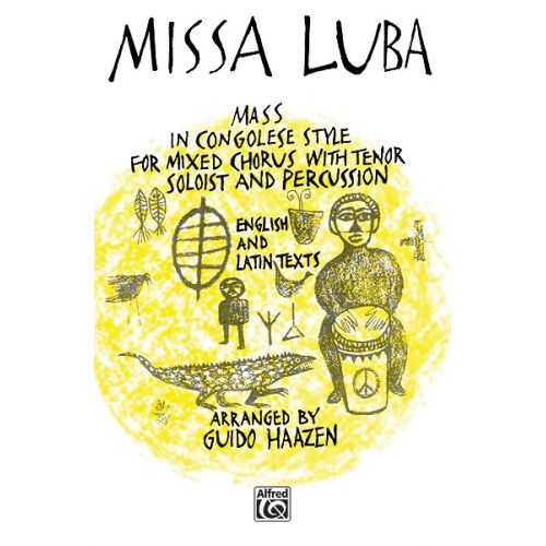 ALFRED PUBLISHING MISSA LUBA - MIXED VOICES