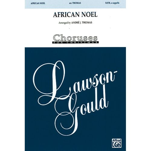 ALFRED PUBLISHING AFRICAN NOEL - MIXED VOICES
