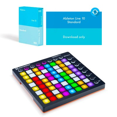 ABLETON LAUNCHPAD MKII + LIVE 10 STANDARD EDITION - UPGRADE FROM LIVE LITE  (DOWNLOAD)
