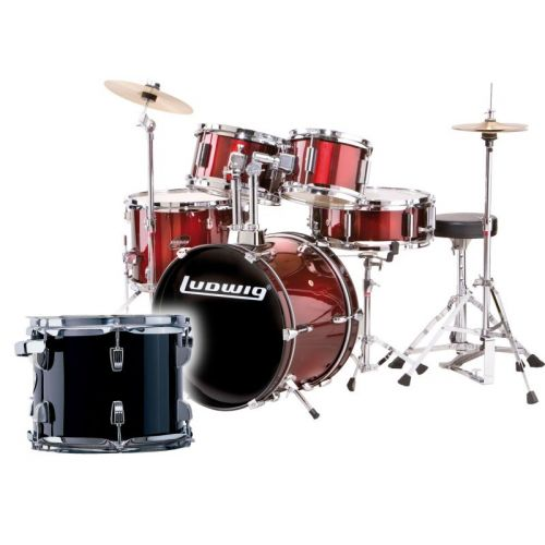 LUDWIG JUNIOR SERIE - BLACK