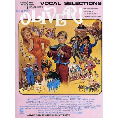 MUSIC SALES LIONEL BART'S OLIVER! VOCAL SELECTIONS- PVG