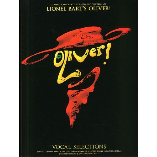MUSIC SALES LIONEL BART OLIVER! VOCAL SELECTIONS FROM THE MUSICAL - PVG