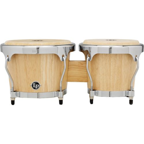 LP LATIN PERCUSSION LPH601-SNC - BONGOS HIGHLINE NATURAL