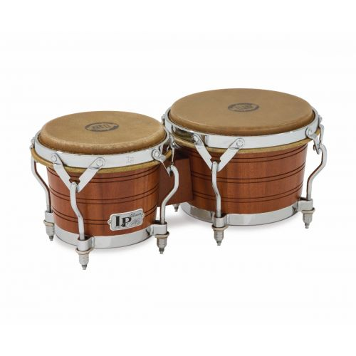 LP LATIN PERCUSSION LP1964 - BONGOS ORIGINAL 1964 - MAHOGANY