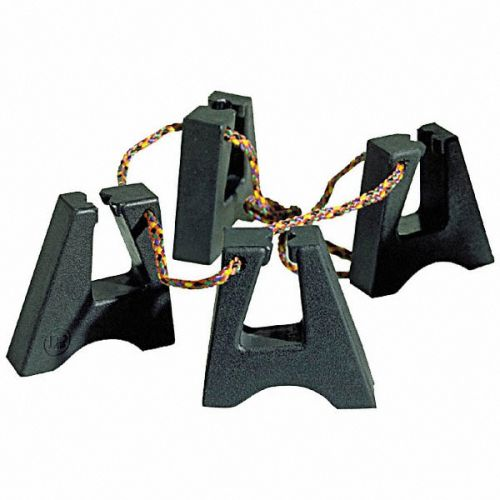 LP LATIN PERCUSSION LP637 - RUBBER CONGA FEET (X4)