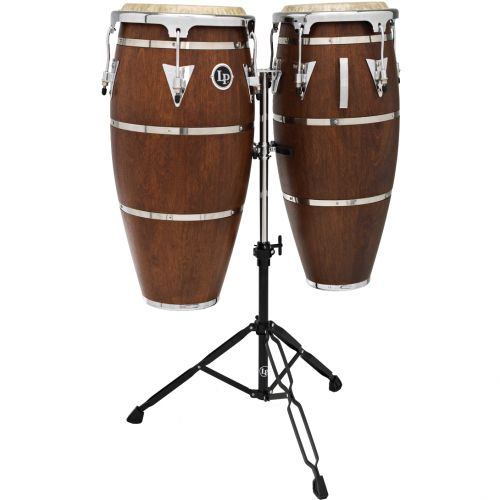 LP LATIN PERCUSSION LPH646-SMC - CONGAS HIGHLINE DUO QUINTO 10