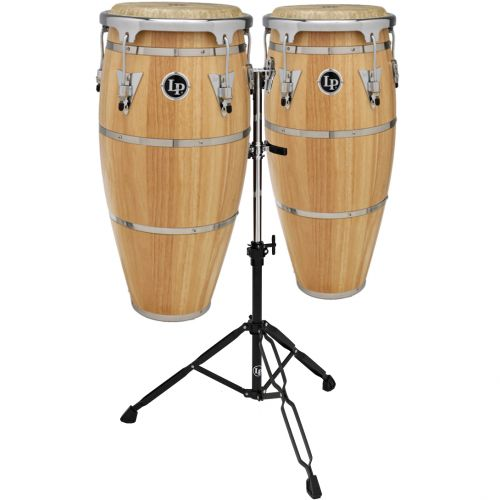 LP LATIN PERCUSSION LPH646-SNC - CONGAS HIGHLINE DUO QUINTO 10