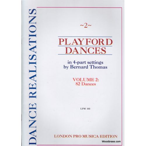 LONDON PRO MUSICA PLAYFORD DANCE TUNES VOL. II - 4 INSTRUMENTS