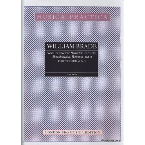 LONDON PRO MUSICA BRADE W. - NEWEAUSERLESENE BRANDEN... - 5 INSTRUMENTS