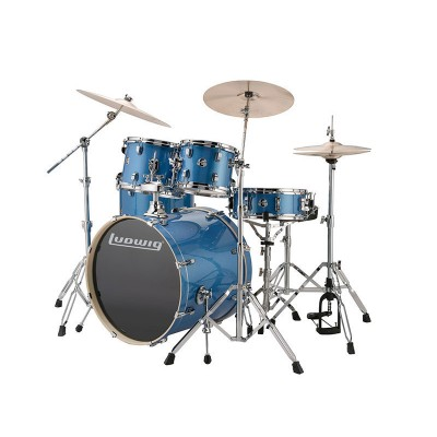 LUDWIG DRUMS KIT LUDWIG ELEMENT 220 4F BLUE SPARKLE