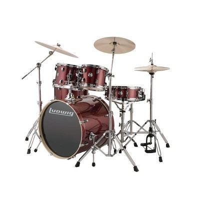 LUDWIG DRUMS KIT LUDWIG ELEMENT 220 4F RED SPARKLE