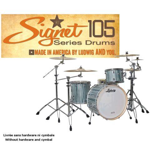 LUDWIG SIGNET 105 GIGABEAT - 20/12/14 ALPINE BLUE