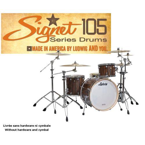 LUDWIG SIGNET 105 GIGABEAT - 20/12/14 BROWN