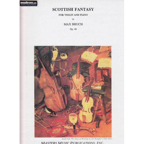 MASTERS MUSIC PUBLICATIONS BRUCH MAX - SCOTTISH FANTASY OP.46