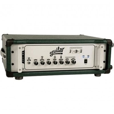 AGUILAR HEAD CASE ACCESSORIES MONSTER GREEN FINISH