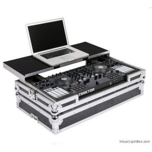 MAGMA DJ CONTROLLER WORKSTATION S4F1 BLACK/SILVER
