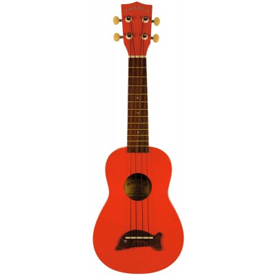 MAKALA MK-SD/CAR UKULELE SOPRANO DOLPHIN CANDY APPLE RED