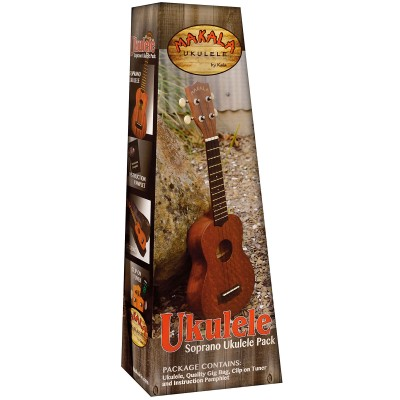 MAKALA MK-S/PACK UKULELE SOPRANO SATIN PACK