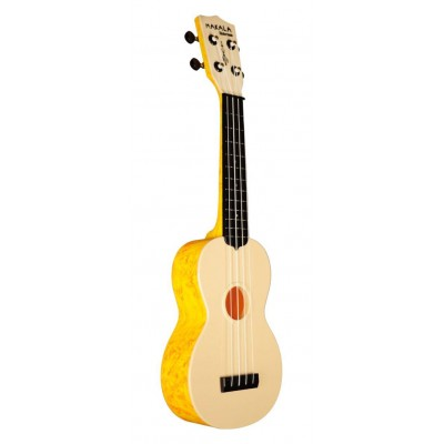 MAKALA UKULELE WATERMAN SWIRL ORANGE