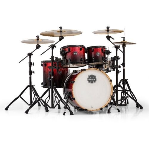 MAPEX AR504S-BNV - ARMORY 5 KESSEL FUSION 20 MAGMA RED (OHNE HARDWARE)